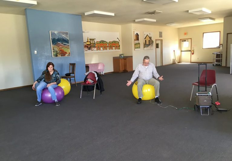 Senior Pilates with Fresh Start: